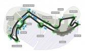 Конфигурация трассы Формулы-1 гран-при Монако, город Монте-Карло, 2008-2013 годов