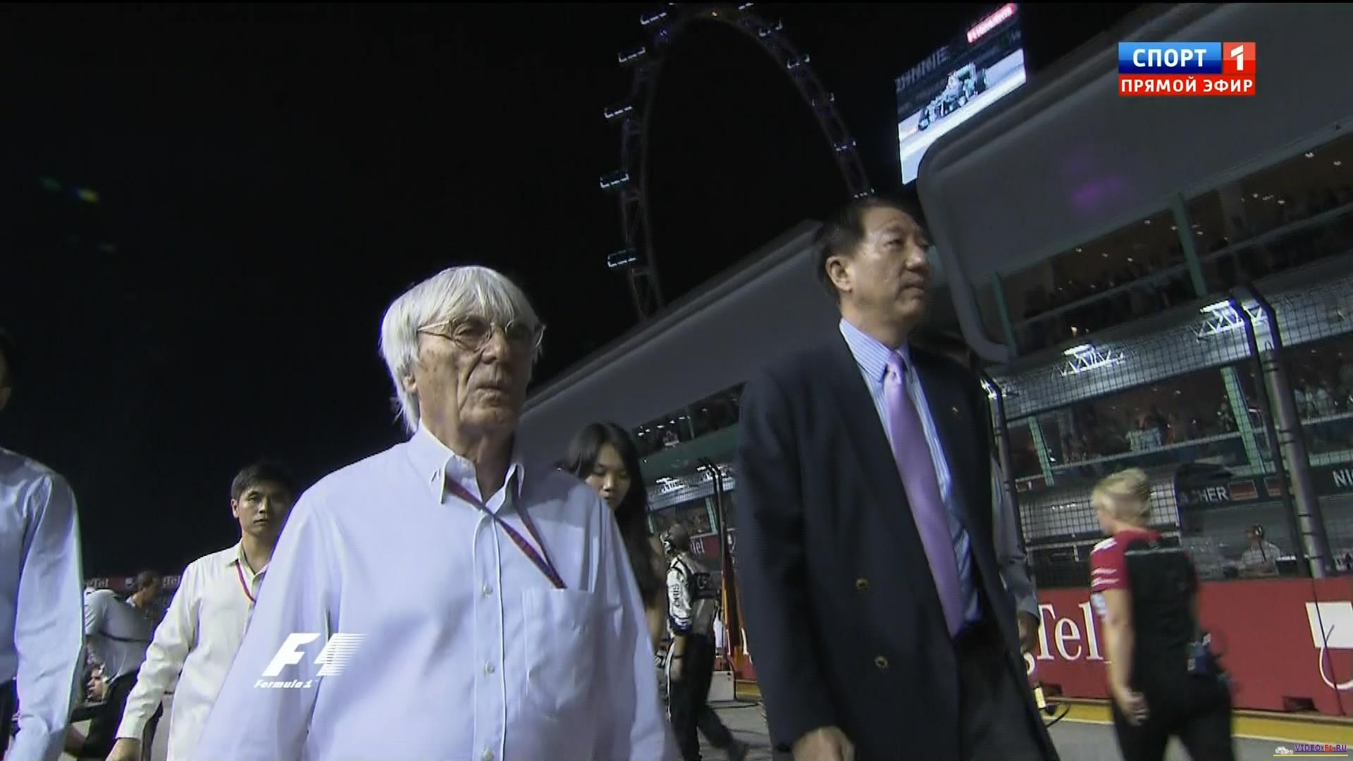Формула 1 гран при сингапура 2011 гонка 13 фотография