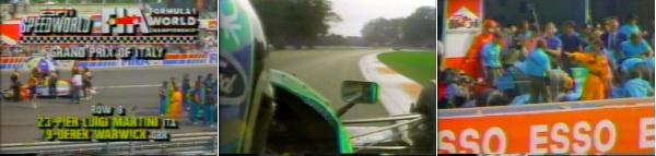 Формула-1.Сезон 1989.Гран-при Италия.Гонка