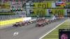 Старт гонки отложен - мигают желто зеленные огни - Шумахер заглох