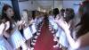 коридор из бельгийских девушек