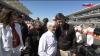 Берни Эклстоун с человеком, который сделал эту трассу в Америке реальной