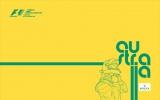 официальный билборд логотип гонок Формулы-1 в Австралии 2014