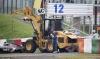 Формула-1 гран при Японии Сузука 2014, Бьянки врезался в трактор