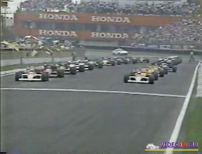 Формула-1.Сезон 1988.Гран-при Мексика.Гонка