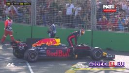Рикардо не смог закончить домашнюю гонку