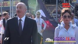 президент азербайджана и его жена