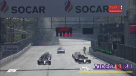 старт гонки ф1 баку 2019